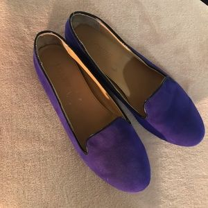 J Crew Cora Suede Loafers